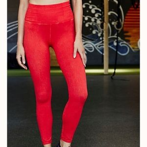 Free People high-rise 7/8 good karma Leggings